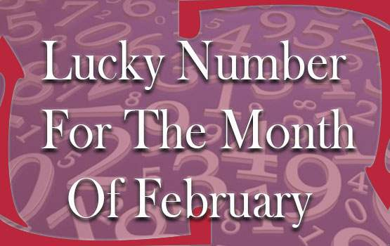 lucky numbers of month