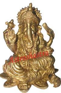 Brass Ganesha on