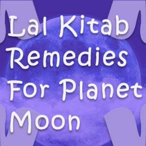 lal kitab remedies for moon