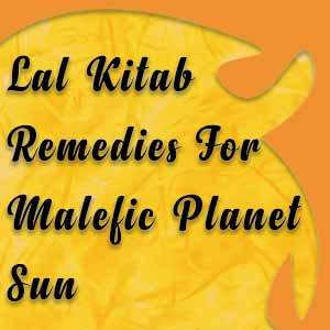 lal kitab remedies for sun